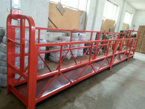 Zlp630 Aluminum Mobile Outside Suspended Platform Adjustable pictures & photos