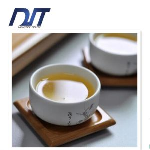 Eco-Friendly Square Bamboo Tea Cup Coaster for Drinking pictures & photos