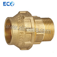 Brass Male Connector Pipe Fittings for PE Pipe Fitting pictures & photos