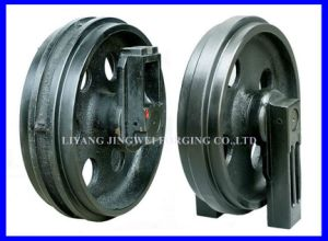 Popular Excavator Undercarriage Parts Forging Front Idler pictures & photos