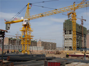 Hydraulic Tower Crane 6018 for Sale by Hsjj pictures & photos