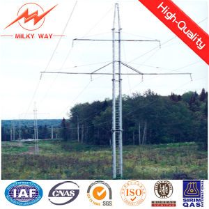 110 Kv Steel Pipe Power Linear Tower Transmission Pole pictures & photos
