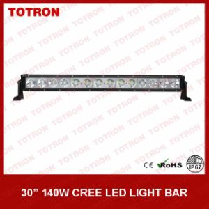 Bright off Road LED Light Bar Single Row with CREE LEDs pictures & photos