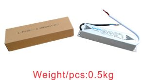 Outdoor Waterproof 60W 12V Slim LED Power Supply with Ce, Bis Certified pictures & photos