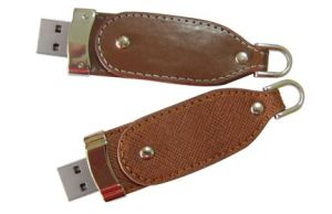 Business Gift Leather USB Memory Stick with Full Capacity pictures & photos