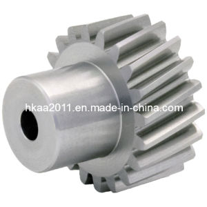 Harden Steel Crossed Axis Parallel Shaft Helical Pinion Gears pictures & photos