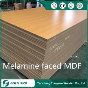 Red Black 2mm - 18mm High Glossy UV MDF for Decoration Board Furniture Slab pictures & photos
