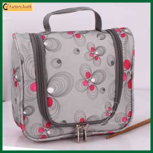 Customized Lady Polyester Cosmetic Bag (TP-COB024) pictures & photos