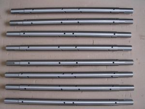 Transmission Equipment Steel Shaft with Keyway pictures & photos