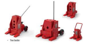 Small 5 Ton Hydraulic Toe Lifting Jack pictures & photos