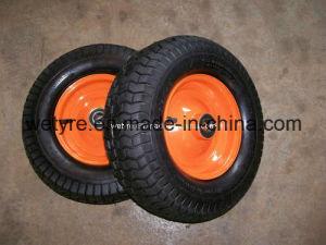 "Comb Tread Pattern Pneumatic Rubber Wheel (16""X6.50-8)"
