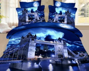 Top Selling Factory Wholesale 3D Screen Print Bed Sheets pictures & photos