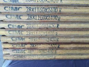 28mm Keruing /Gurjan/Apitong Plywood for Container Floorboard pictures & photos