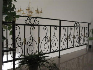 Decorative High Quality Wrought Iron Security Railing pictures & photos