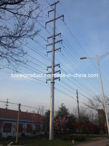 Megatro Tension Steel Pole for Power Transmission pictures & photos