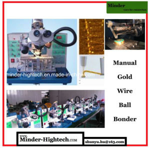 Manual Ultrasonic Gold Wire Ball Bonder Mdbb1750 pictures & photos