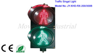 Diameter 300mm Animated Pedestrian LED Traffic Light pictures & photos