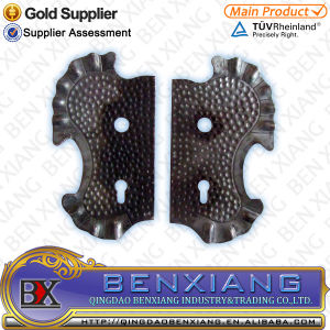 Steel Products Metal Lock Plates Wrought Iron pictures & photos