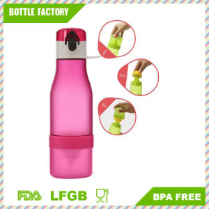 Detox Plastic Water Bottle with Handle pictures & photos