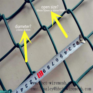 Diamond Wire Mesh Fence / Chain Link Wire pictures & photos