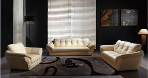 Lizz Living Room Genuine Leather Sofa A803 pictures & photos