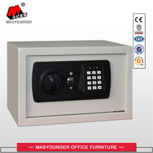 White Color Cold Roller Steel Hotel /Home Use Mini Metal Safe Box pictures & photos