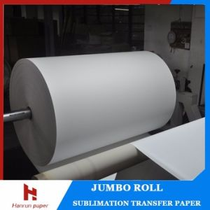 55g, 70g, 90g, 100GSM High Quality, Low Cost Sublimation Roll Paper/Tacky Sublimation Transfer Paper for Sportswear pictures & photos