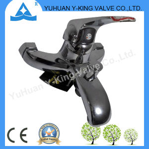 Single Hand Brass Basin Faucet From China (YD-E009) pictures & photos