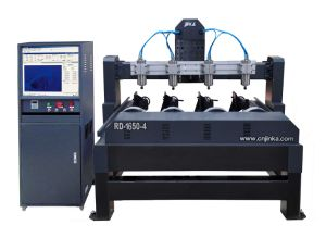 Competitive Rd 1650 Woodworking Engraver CNC Rotary Router pictures & photos