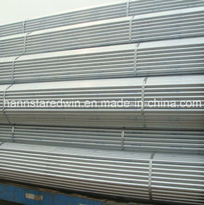 Steel Pipe/Steel Tube with Galvanized Use on Building and Industry pictures & photos