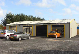 Prefab Car Garage/Carport/Car Parking Warehouse (DG3-017) pictures & photos