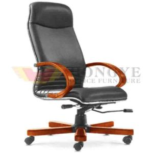 Wholesale Black Mechanism Office PU Chair pictures & photos