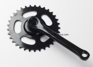single-speed chainwheel and crank CK-021 pictures & photos