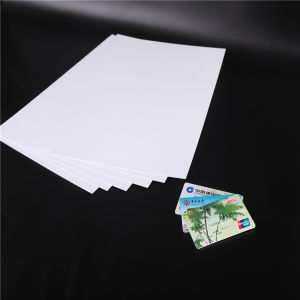 PVC White Plastical Card for Bank Card pictures & photos