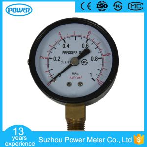 60mm Bottom Type Black Steel Case Manometer with Ce Certificate pictures & photos