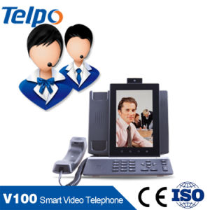 Stock Price OEM Low Cost Cheap SIP Phone for Video Conference pictures & photos