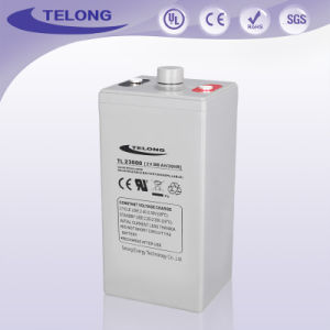Telong 2V300ah Rechargeable Deep Cycle Power VRLA Battery pictures & photos