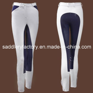 Silicone Full Seat Riding Breeches Jodhpurs (B63) pictures & photos