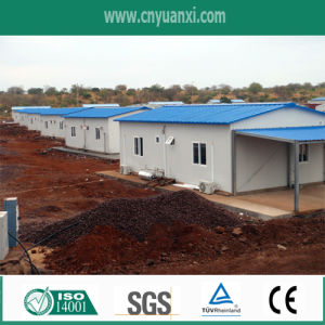 Angola Project Prefabricated Houses for Temporary Camp