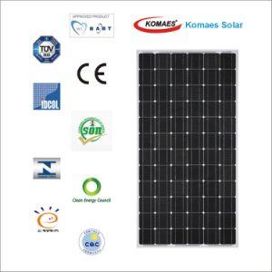 190W TUV IEC Mcs CE Cec Inmetro Idcol Soncap Approved Solar Module PV Panel Solar Panel (EU Antidumping Duty-Free)