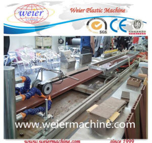 PVC WPC Wood Plastic Door Board Extruder Machine Production Line pictures & photos