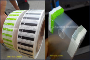 Adhesive Label, Foam Tape, Film Automatic Hot Stamping Punching Die-Cutting Machine pictures & photos