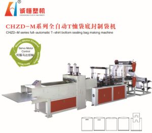 Full-Automatic T-Shirt Bottom Sealing Bag Making Machine (Manufacturer) pictures & photos