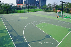 Outdoor PVC Sports Flooring for Badminton/Basketball Playground pictures & photos