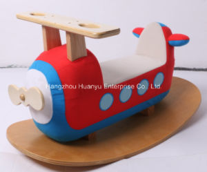 New Design Factory Supply Rocking-Wooden Plane Rocker pictures & photos