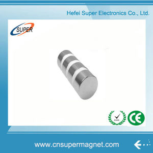Factory Supply (45*35mm) Strong Neodymium Cylinder Magnets pictures & photos