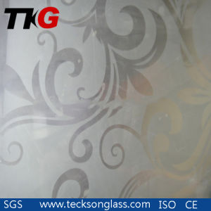 Deep Acid Etched Pattern Glass for Sliding Soor Glass pictures & photos