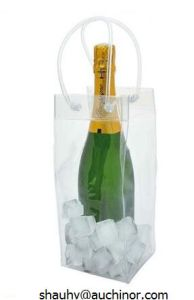 Travel Single Bottle PVC Wine Cooler Bag for Champagne Holder pictures & photos