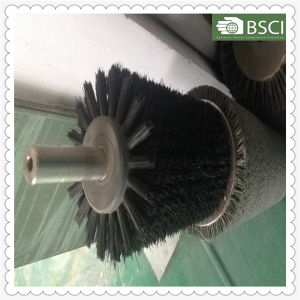 Br-Qsll PP Body Black Nylon Stainless Steel Industrial Brush pictures & photos