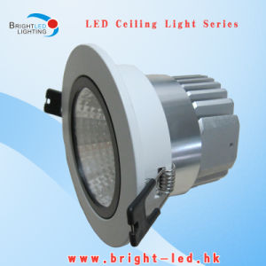 10W LED Downlight COB Bridgelux Manufacturer in Warm White pictures & photos